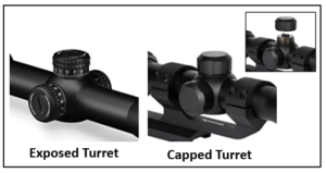 Exposed and Capped Turrets